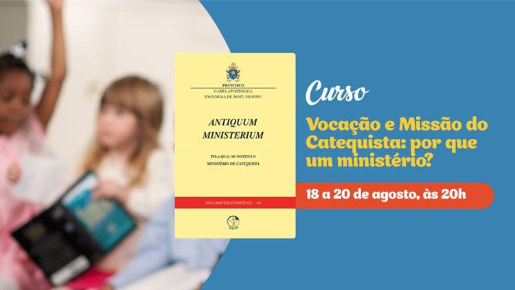 CNBB OFERECE CURSO PARA CATEQUISTA